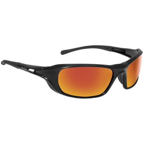 a bolle bolle 40159 shadow safety glasses black temples