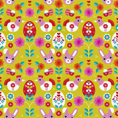 free printable wrapping paper patterns gt happy spring a quirky easter free printable poster