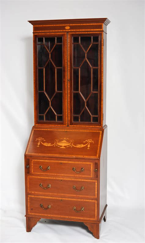 Antique Bureau Bookcase edwardian bureau bookcase antiques atlas