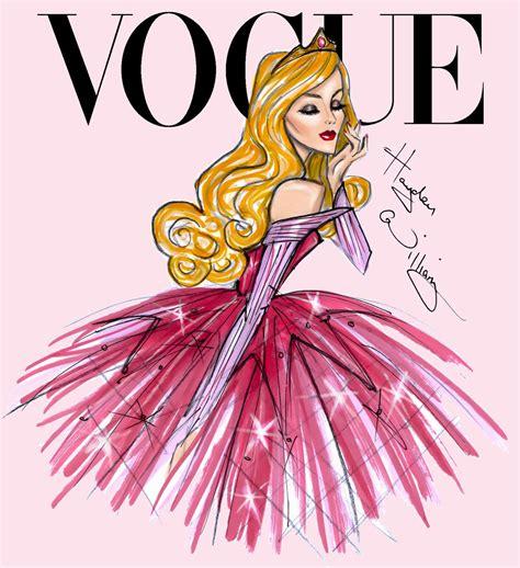 fashion illustration vogue covers hayden williams fashion illustrations disney divas for vogue by hayden williams