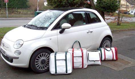 fiat 500 luggage bagworld fiat 500 luggage
