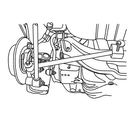 Repair Instructions Rear Toe Adjustment 2007 Chevrolet