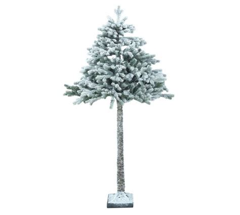 buy snowy christmas tree 6 5ft at argos co uk your