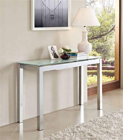 console allungabili idee da salotto tavoli consolle allungabili di design
