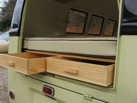 volkswagen westfalia cer interior rear storage in splitscreen van volkswagon bus
