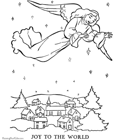 angel coloring pages for preschool nativity story coloring pages az coloring pages