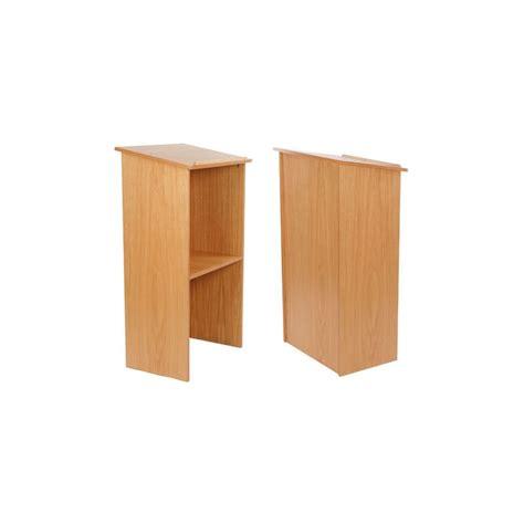 Wood Podium Lectern Pulpit   Discount Displays