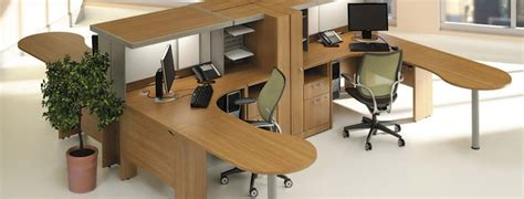 new and used office furniture office set up