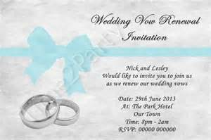 Renewal invitations personalised invitations wedding vow vows renewal