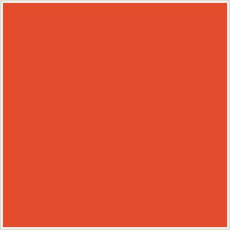 cinnabar color e44d2e hex color rgb 228 77 46 cinnabar orange