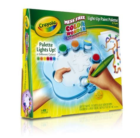 save 12 00 crayola color light up paint palette with glitter paper 071662102135 17 99