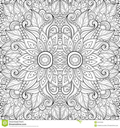 seamless tribal pattern seamless abstract tribal pattern vector vector
