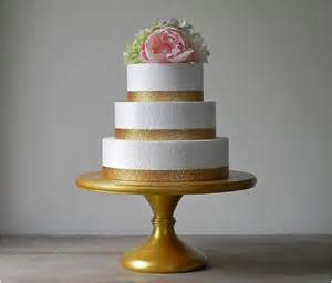 gold metallic wedding wonderful cake stand interior design ideas