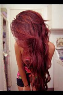 maroon colored hair what trendy color should you dye your hair coloured