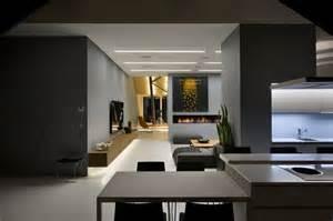 wohnzimmer anthrazit anthrazit farbe in moderner dachgeschosswohnung