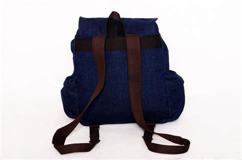 Tas Ransel Backpack Esgotado Denimo Lilo jual tas ransel cewek denimo lilo blue biru tua murah bebas ongkir 3 toko maknyuss toko maknyuss