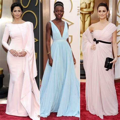 Oscar Trends To Inky Blue by Pastel Dress Trend At Oscars 2014 Popsugar Fashion