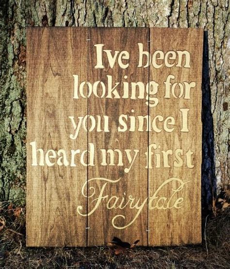 printable quotes for wooden signs rustic wood sign decor painted wood fairytale quote sign