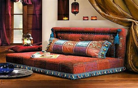 Moroccan Sofa by Moroccan Sofa Ethnic Eco Chic Design Pit Mattress And Cow