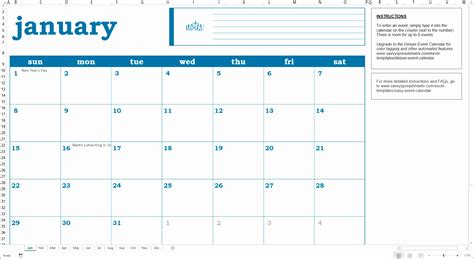 planning calendar template excel exceltemplates