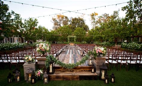 Backyard Wedding Ceremony And Reception by Bohemian Outdoor Garden Wedding Ceremony Rustic