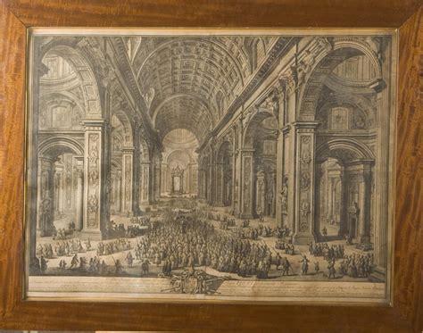 giuseppe vasi giuseppe vasi 1710 1782 two engravings of the st