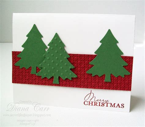 personalized christmas card set of 10 hand crafted christmas