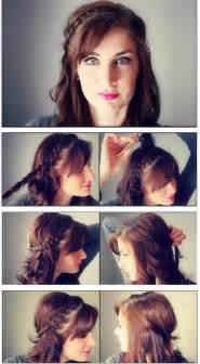 Para lucir un peinados con trenzas hermoso en ese dia tan