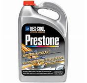 Prestone Dex Cool Extended Life Antifreeze/Coolant 1 Gal