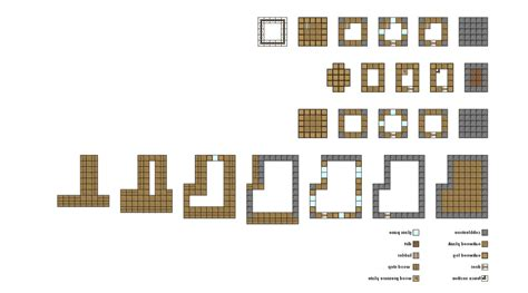 floor plans for minecraft simple minecraft floor plans google search minecraft