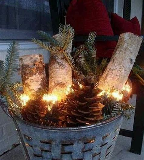 easy homemade outdoor christmas decorations 32 decorations