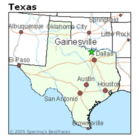 gainesville texas map best places to live in gainesville texas