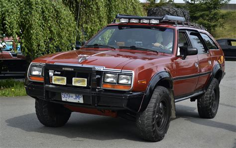 4x4 station wagon 1984 amc eagle 4x4 station wagon custom cab flickr