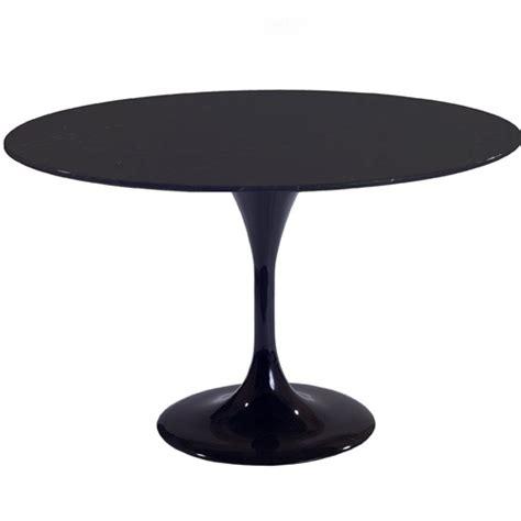 black tulip table eero saarinen style tulip table 36 quot in black
