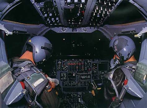 B2 Interior by Us Air Bomber Operations On Diego Garcia 2001