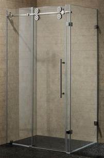 Shower Frameless Glass Door Shower Doors Frameless Frameless Hinged Shower Door In Brushed Nickel Sliding Glass Bathtub