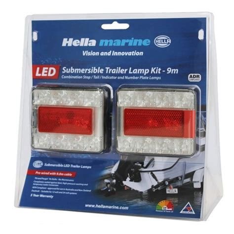 waterproof led trailer lights deleted part no replacement hella trailer light led