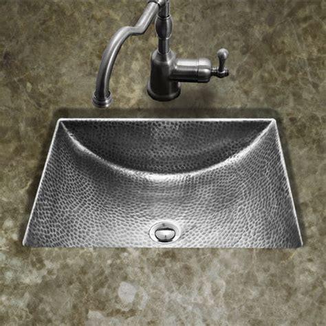 pewter bathroom sinks hw tetra15 hammerwerks series concave undermount lavatory