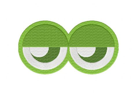 embroidery design eyes green monster eyes machine embroidery design daily