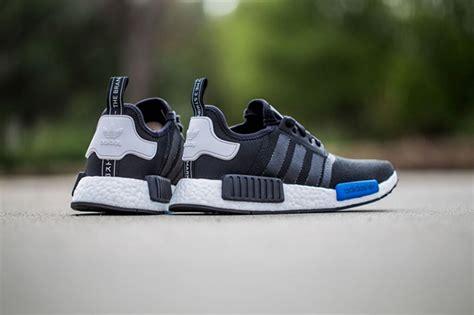 Adidas Nmd Runner Pk Mesh Blue Premium Original Sepatu Running adidas nmd mesh black white sneakerfiles