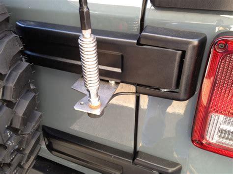 jeep wrangler cb easy dyi jeep wrangler jk cb antenna mount offroaders
