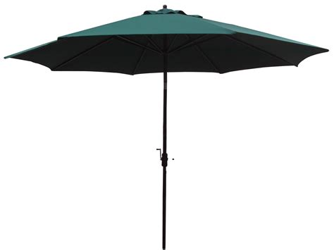 11 Patio Umbrella 11 Foot Green Commercial Patio Umbrella