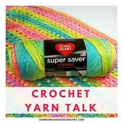 pattern red heart yarn crochet yarn talk red heart super saver stripes yarn