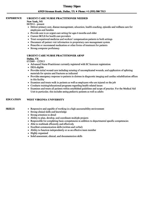 Urgent Care Practitioner Sle Resume by Health Coach Sle Resume Commissioning Manager Sle Resume