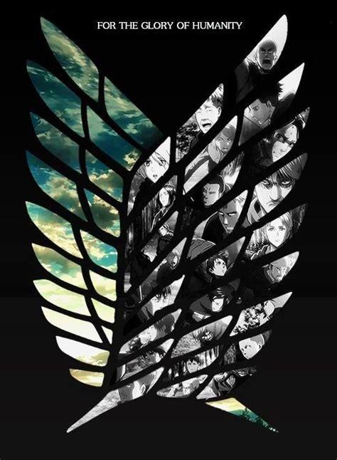 Kaos Scouting Legion Attack On Titan Wings Anime 17 meilleures images 224 propos de l attaque des titan sur