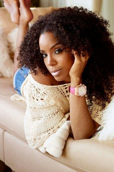 how do i curl my hair like kelly ripa kelly rowland i like her hair like this girl crush z