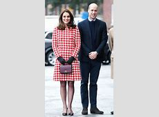 Duchess of Cambridge Carrying a Burgundy Chanel Handbag ... Chanel Stockholm