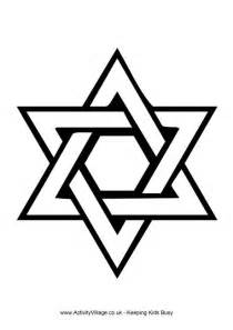 star of david coloring page star of david colouring page