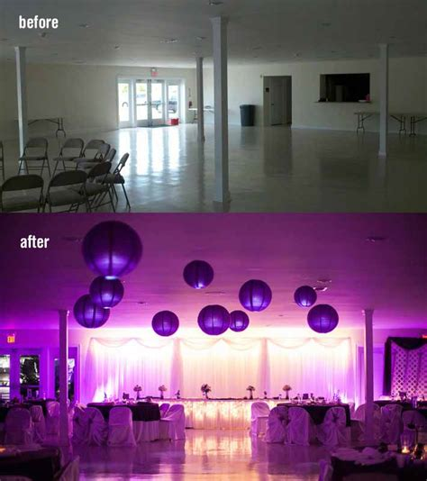 Wedding Lighting Rental by Virginia Up Lighting Rental