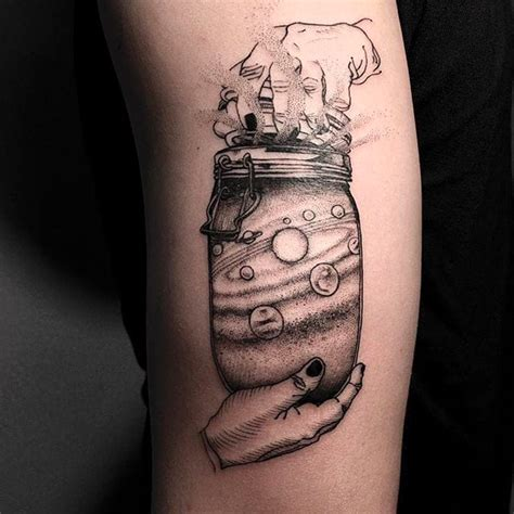 can you get a tattoo at 16 minerva the universe in a jar by oozy oozy